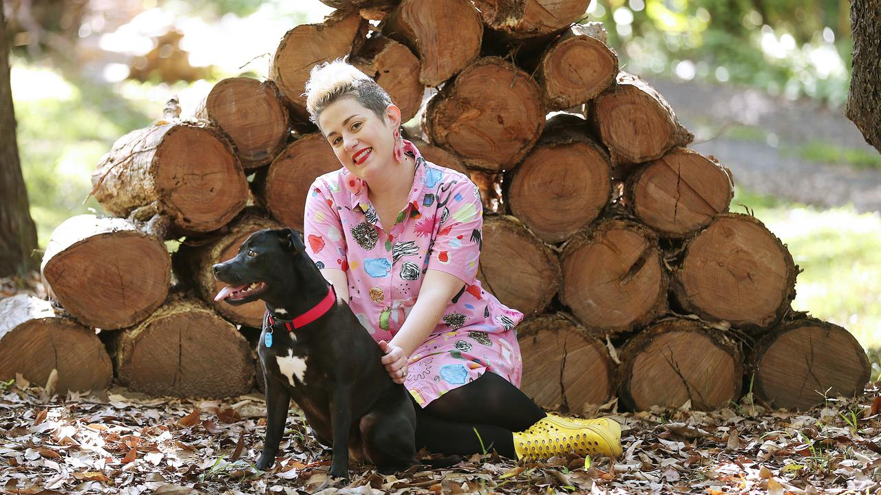 Katie Noonan has recorded her fave 80s tracks for Sweetest Taboo record. Picture: Lyndon Mechielsen/The Australian