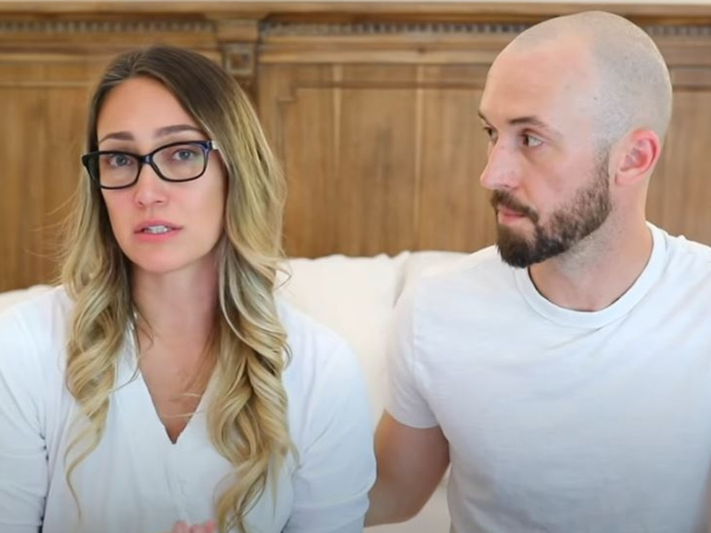 Myka and James Stauffer have been widely criticised for their decision to 'rehome' their adopted son. Picture: Myka Stauffer/YouTube