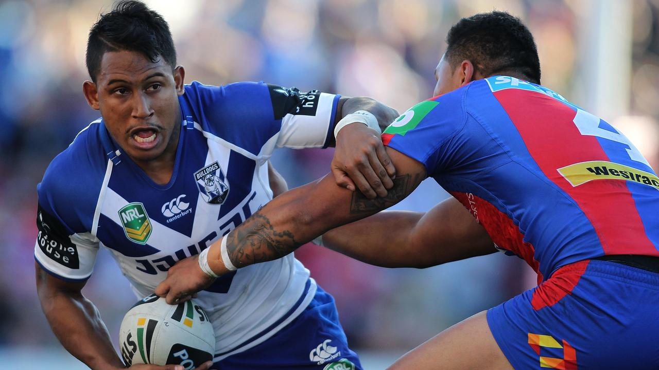 Ben Barba in action with the Canterbury Bulldogs in 2013. Picture: Tony Feder/Getty Images