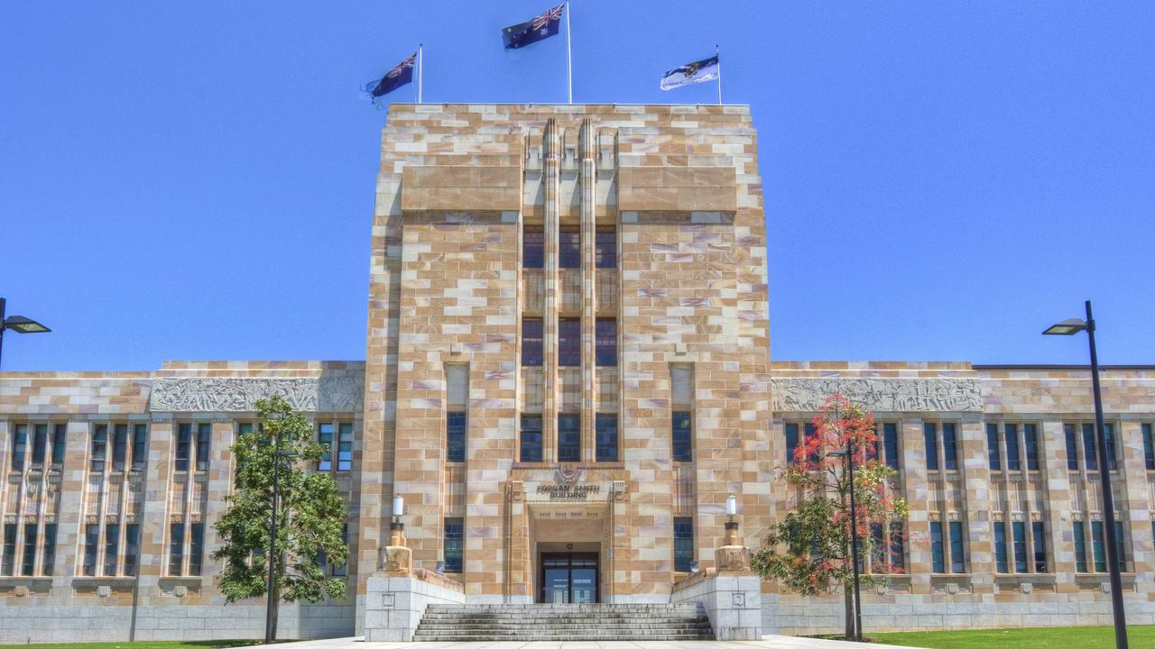 Forgan Smith building, The University of Queensland. Picture: Supplied