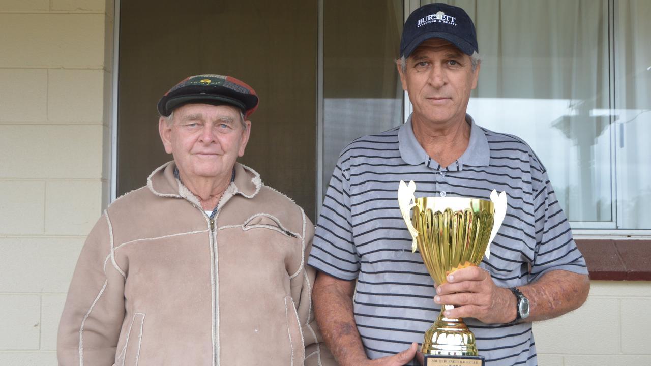 Bundaberg's Darryl Gardiner (right) with Cedrick Duff has been dominating Bundy meets recently. PHOTO: Claudia Williams