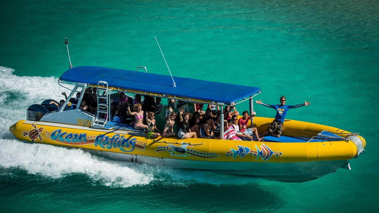 The eased restrictions still do not allow Ocean Rafting to operate at full capacity. Image: Supplied.