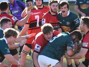 Footy's back: Morale high as rugby training resumes