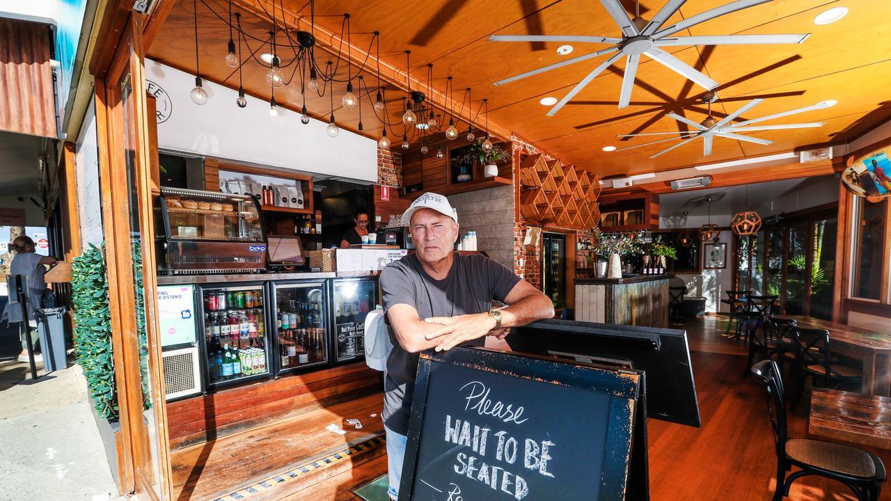 Cafe DBar owner Steve Archdeacon. Picture: NIGEL HALLETT