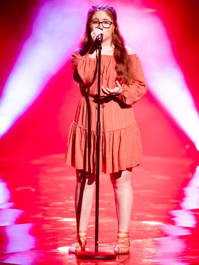 Roma's Maddy Thomas features on The Voice Australia.