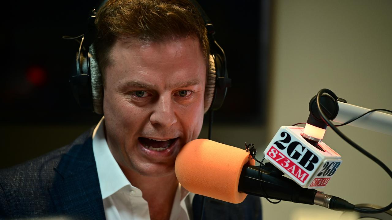 Early bird... Fordham took over the coveted 2GB breakfast timeslot this morning. Picture: AAP