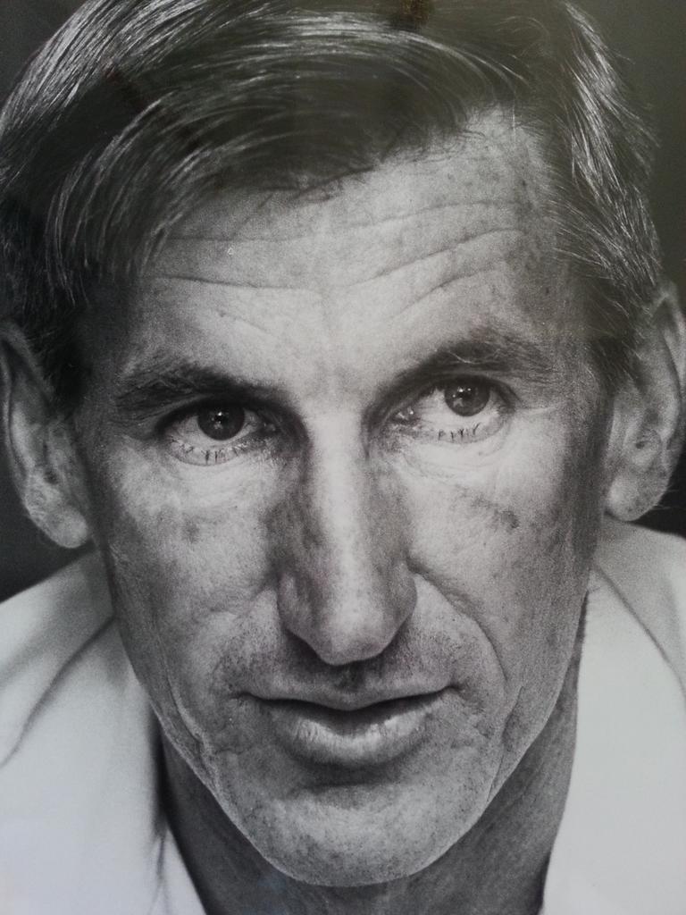 Respected former Ipswich athletics coach Geoff Jones.