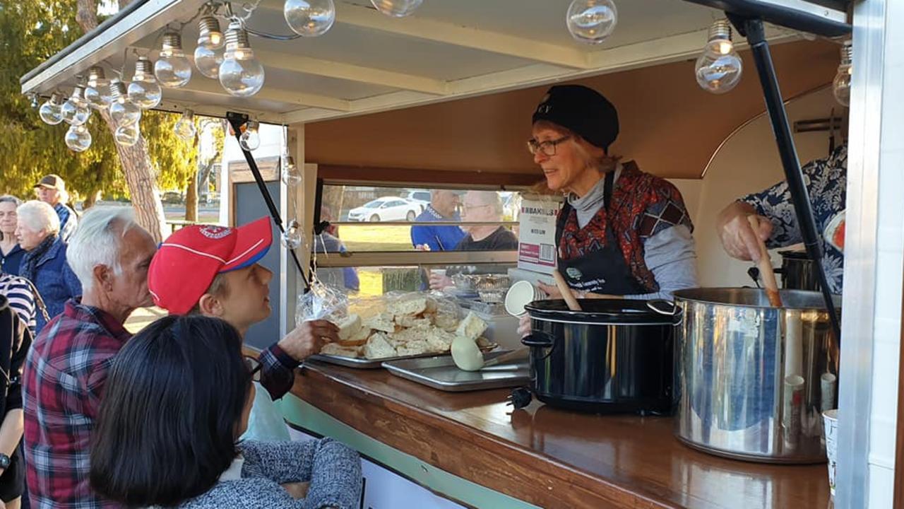 DINNER'S SERVED: Warwick Community Van volunteer serves up kindness and connection.