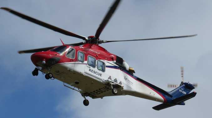 Man critical after quad bike crash