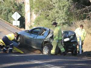 Kingaroy Barkers Creek Rd Crash