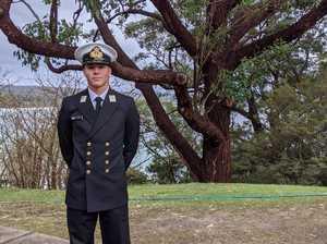 Emerald teen strives for military honours