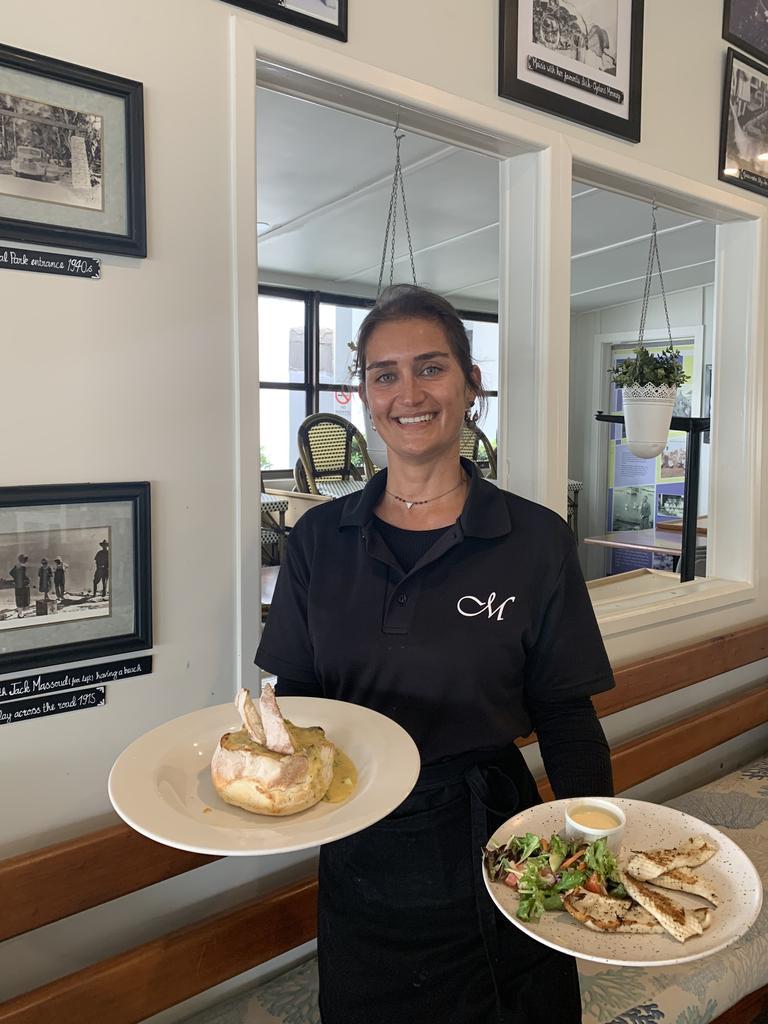 MILESTONE: Marina Lima of Maisie's Restaurant in Noosaville which this year celebrates its 100th birthday. Photo: Caitlin Zerafa
