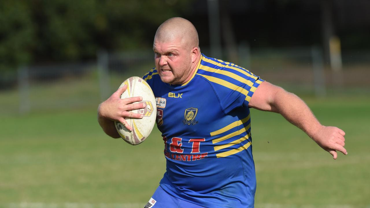 Marist Brothers front-rower Darryl Butcher. Photo Marc Stapelberg