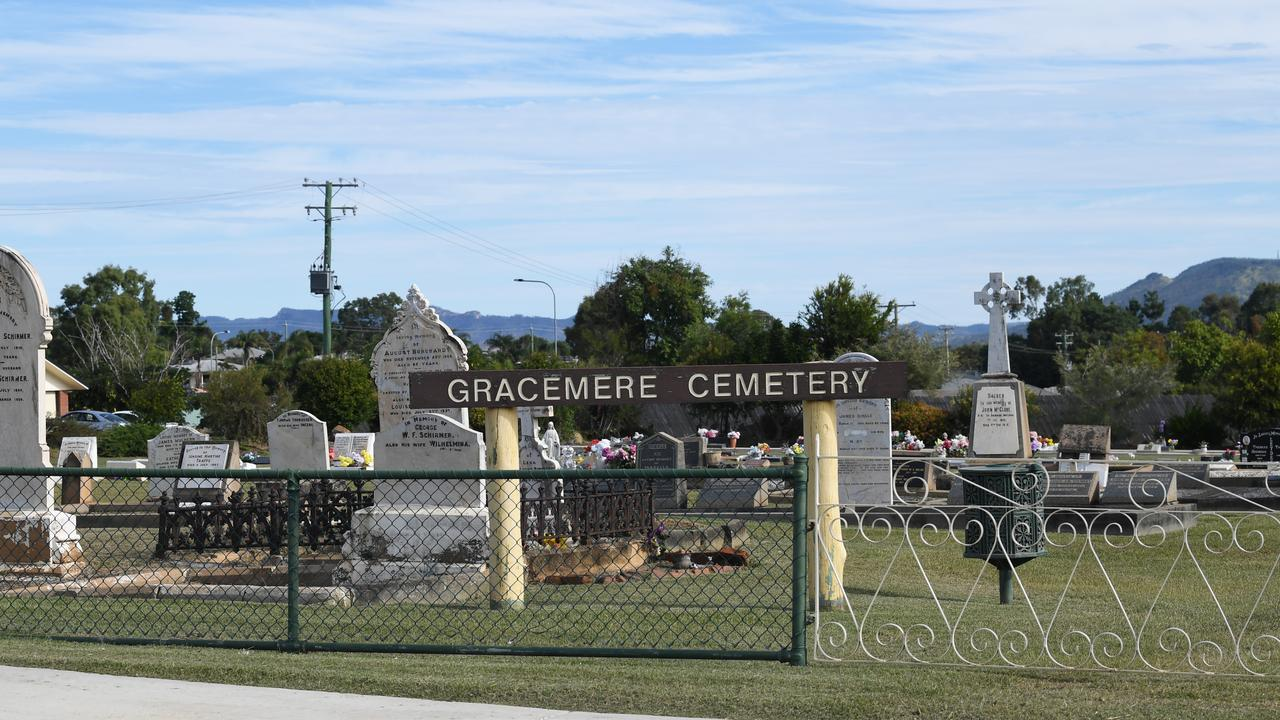 Gracemere cemetery.