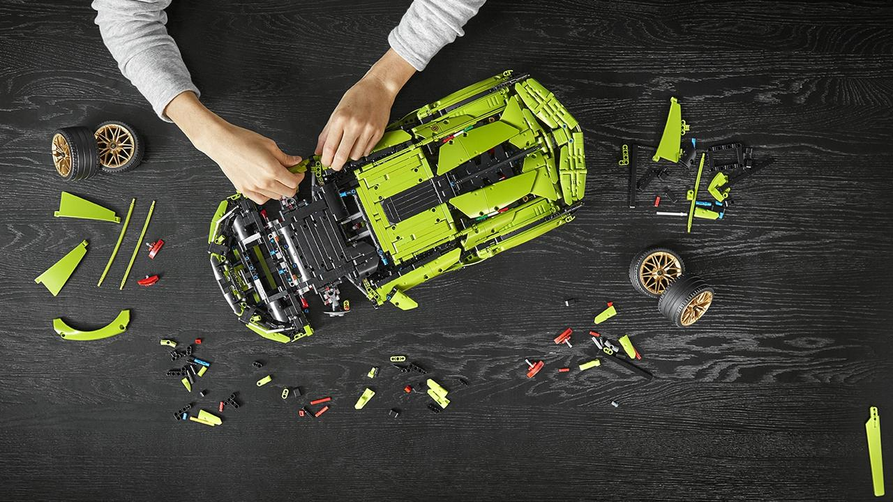 Lego's Lamborghini Sian kit is recommended for adults.