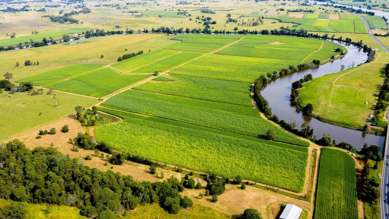 Big River Way property Bridgewater Fields at Tyndale is up for auction on June 18. You can see the Old Highway top right of the photo. Agent Ben Hottes from Ray White Grafton said there has been a lot of interest in property along the stretch since the bypass opened.