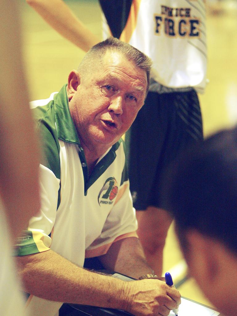 Long-serving Ipswich basketball coach Terry Lindeberg. Picture: Claudia Baxter
