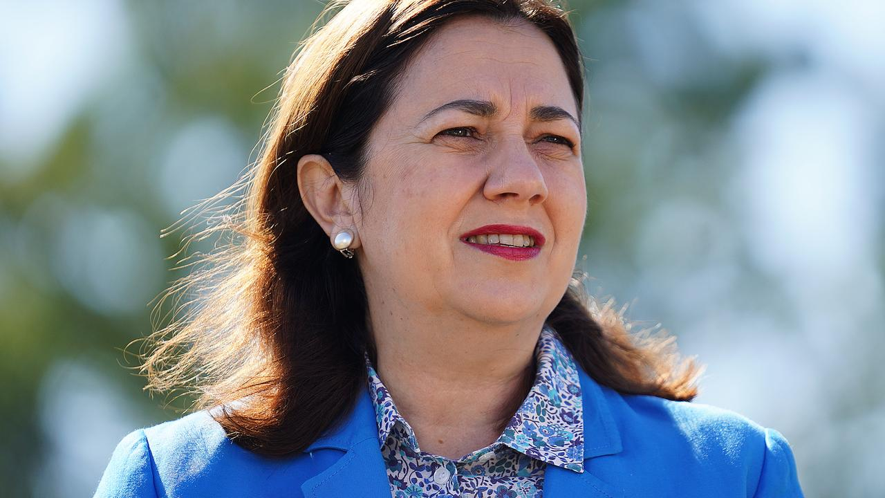 Queensland Premier Annastacia Palaszczuk says she will stand firm on the border closures throughout July. Picture: Dave Hunt/AAP