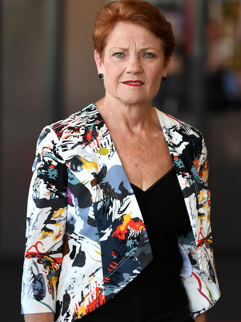 One Nation leader Senator Pauline Hanson announced last week she's be taking the Queensland government to the High Court. Picture: Dan Peled/AAP