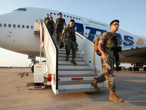 First US Marines touch down in Darwin as deployment begins