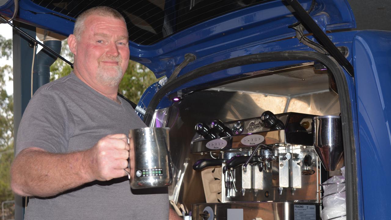 RISTRETTO: Alby Wagemaker has had to cut his coffee dreams short. Photo: Ebony Graveur