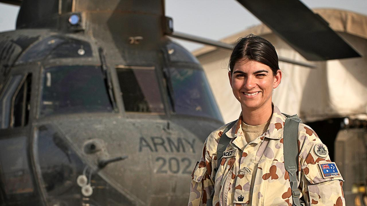 NEW COMMANDING OFFICER: Lt Col Susana Fernandez is now he commanding officer of the 41RNSWR in Lismore. She previously was the commanding officer of the CH-47 Chinook Rotary Wing Group at Kandahar in Afghanistan in 2008 to 2010. Photo: ABPH Paul Berry.