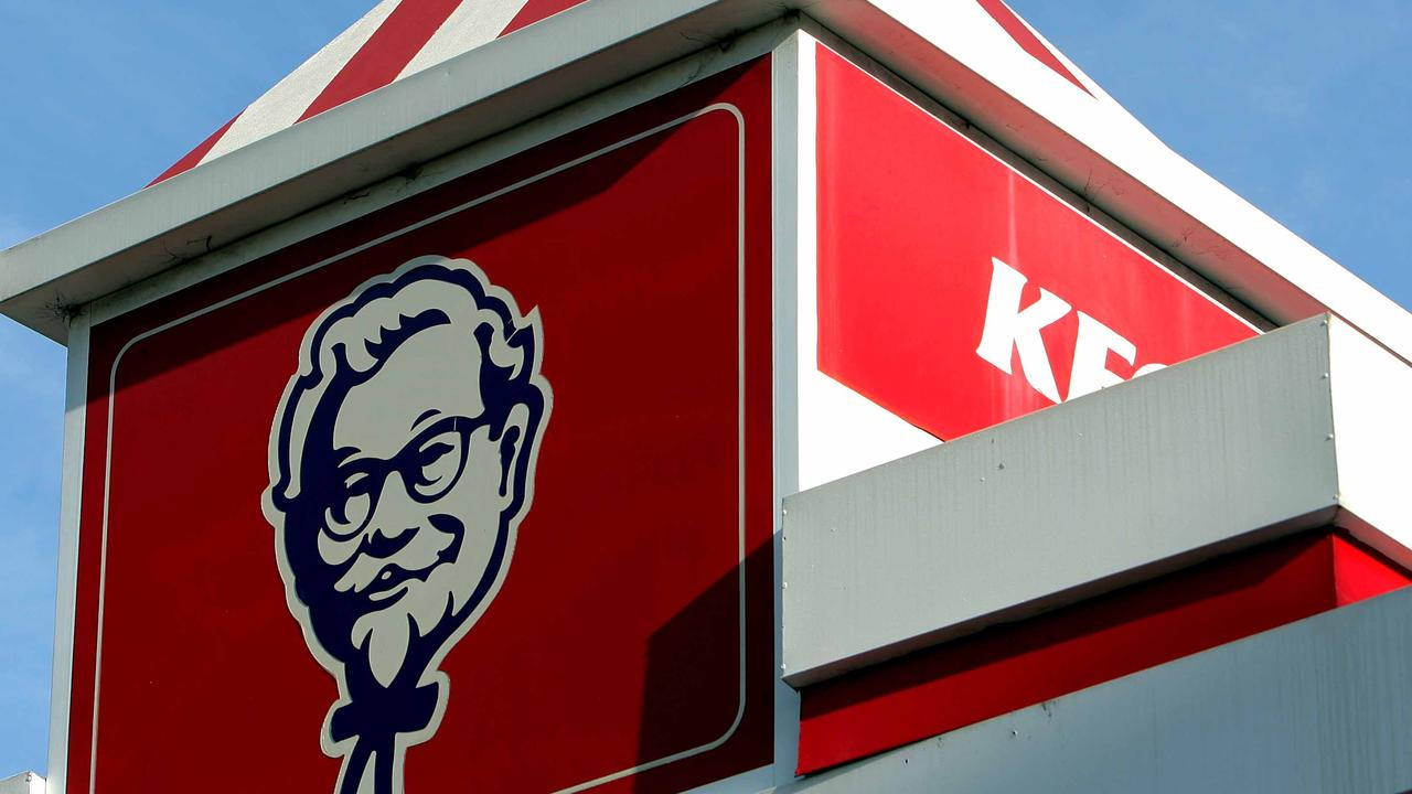 Generic pic of logo for the KFC fast food chain.