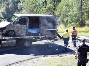 Van fire, Tanawha