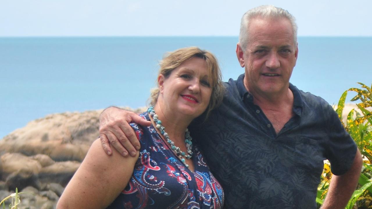 Coral Cove Apartment managers Kate Lindsay and Patrick Riordan.