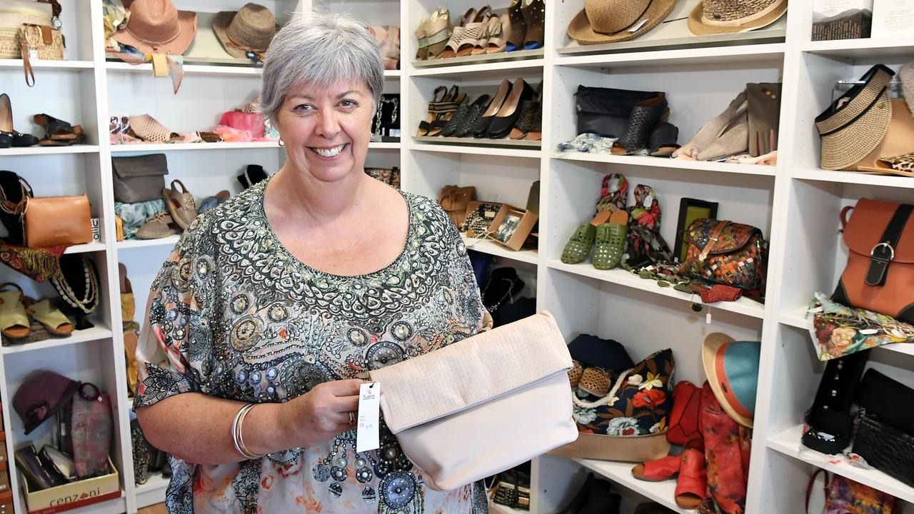 OPEN AT LAST: Anthea Nicholas has just opened her clothing store, That Shop For Her, yesterday after a terrible few months battling with COVID-19 restrictions. Photo: Patrick Woods.