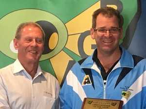 Don joins evergreen member of Yamba Bowling Club