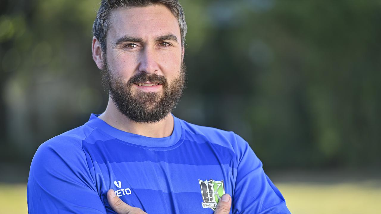 POSITIVE FUTURE: Ipswich Knights goalkeeper Zayne Freiberg is in great shape after a recent injury scare. Picture: Cordell Richardson