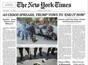 US riots continue, NYT blasted for 'terrible' headline