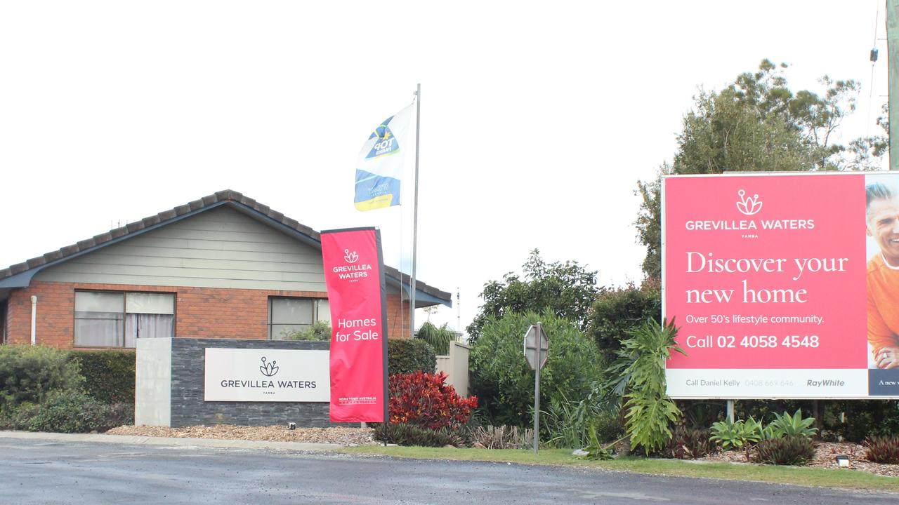 Grevillea Waters, formerly Yamba Waters, will now officially become a manufactured housing estate.