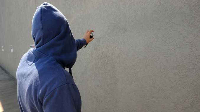 Bay teen arrested for alleged office vandalism