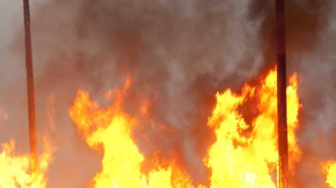 'Petrol thrown' before massive blaze at Coast marina