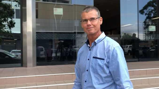 Cop basher sentenced for 'firing finger gun' in court