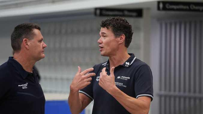 Aussie swim coach walks out ahead of Tokyo Games
