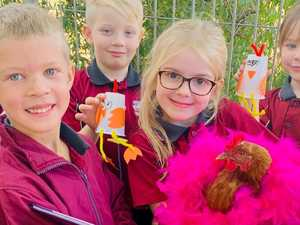 PHOTOS: Taabinga's little chickens celebrate reading