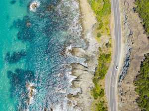 Car drives off cliff on Great Ocean Road