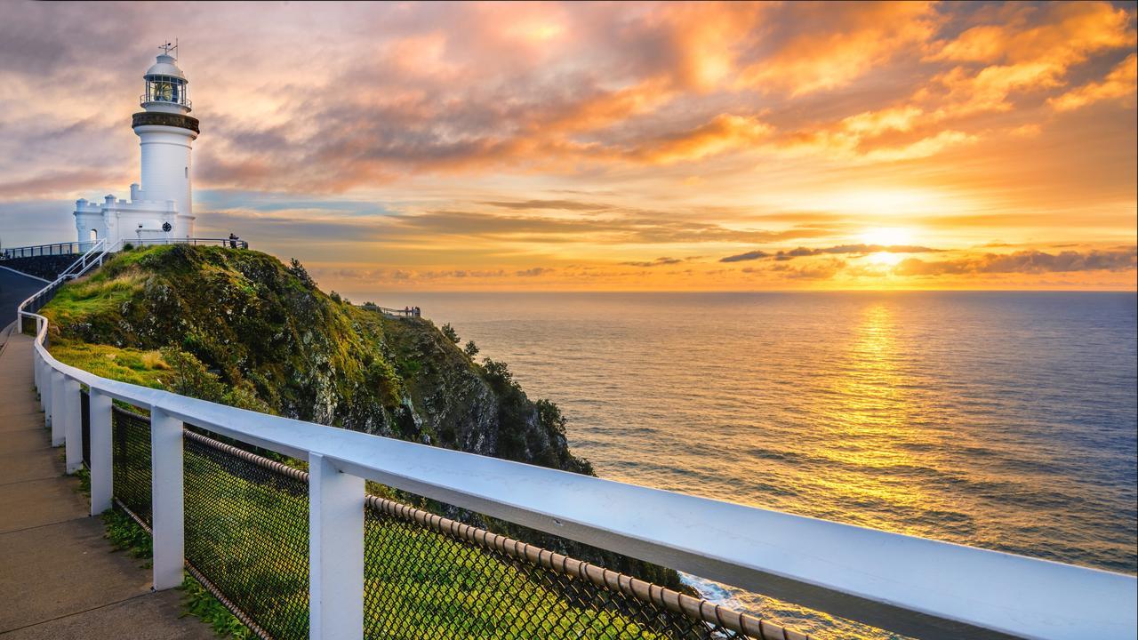 LIGHTHOUSE WISHLIST. Cape Byron, NSW, Australia.