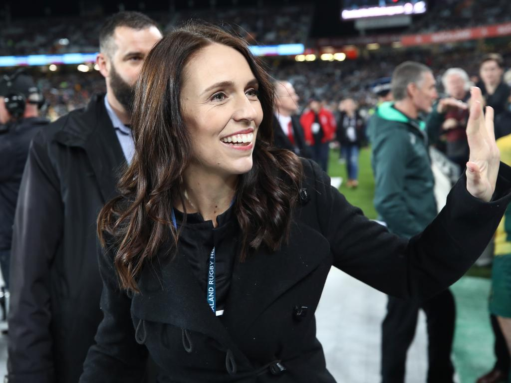 New Zealand Prime Minister Jacinda Ardern is set to end social distancing and allow sporting games. Picture: Phil Walter