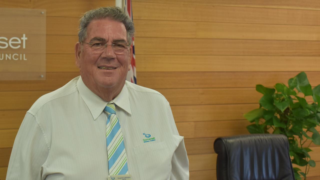Somerset Regional Council Mayor Graeme Lehmann.