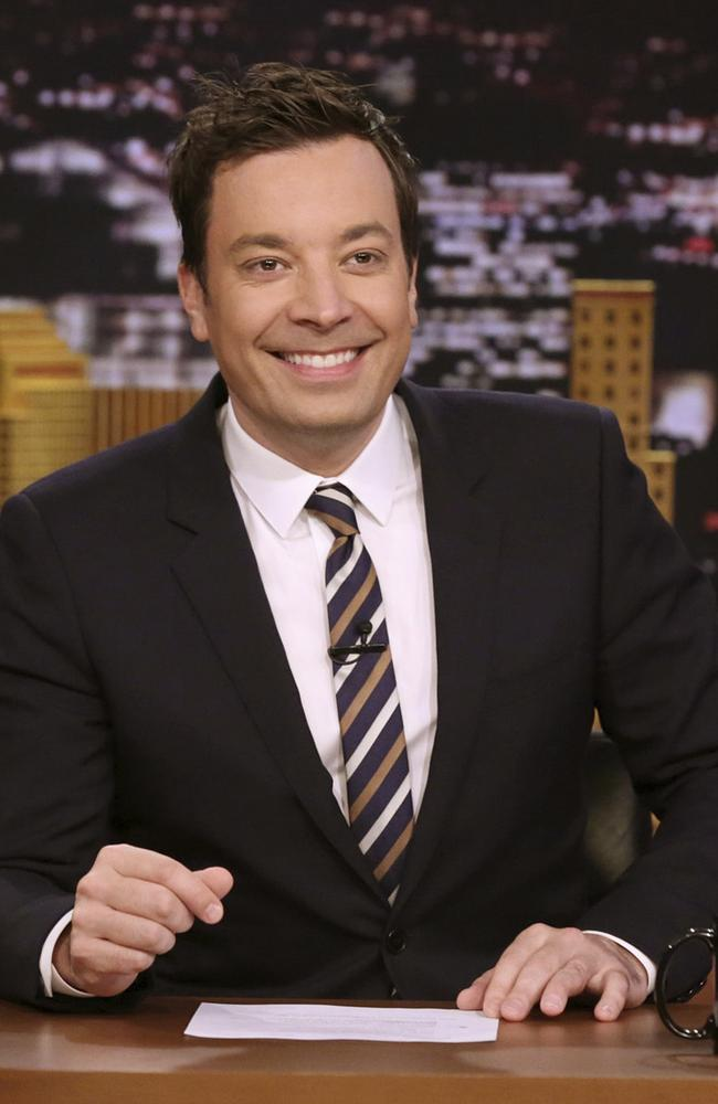 Jimmy Fallon in 2017. Picture: Andrew Lipovsky
