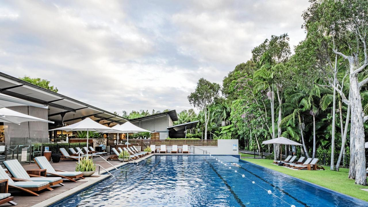 The pool at Byron at Byron Resort.