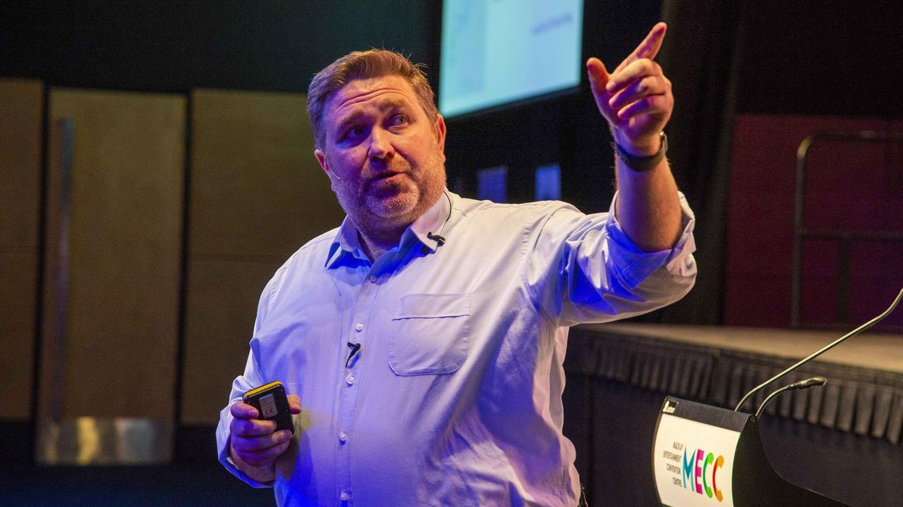 Adani Mining CEO, Lucas Dow.