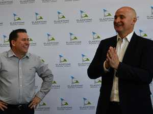 ALL SMILES: Gladstone set for $5.2m in works funding