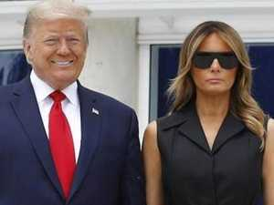 Melania grimaces after smile order