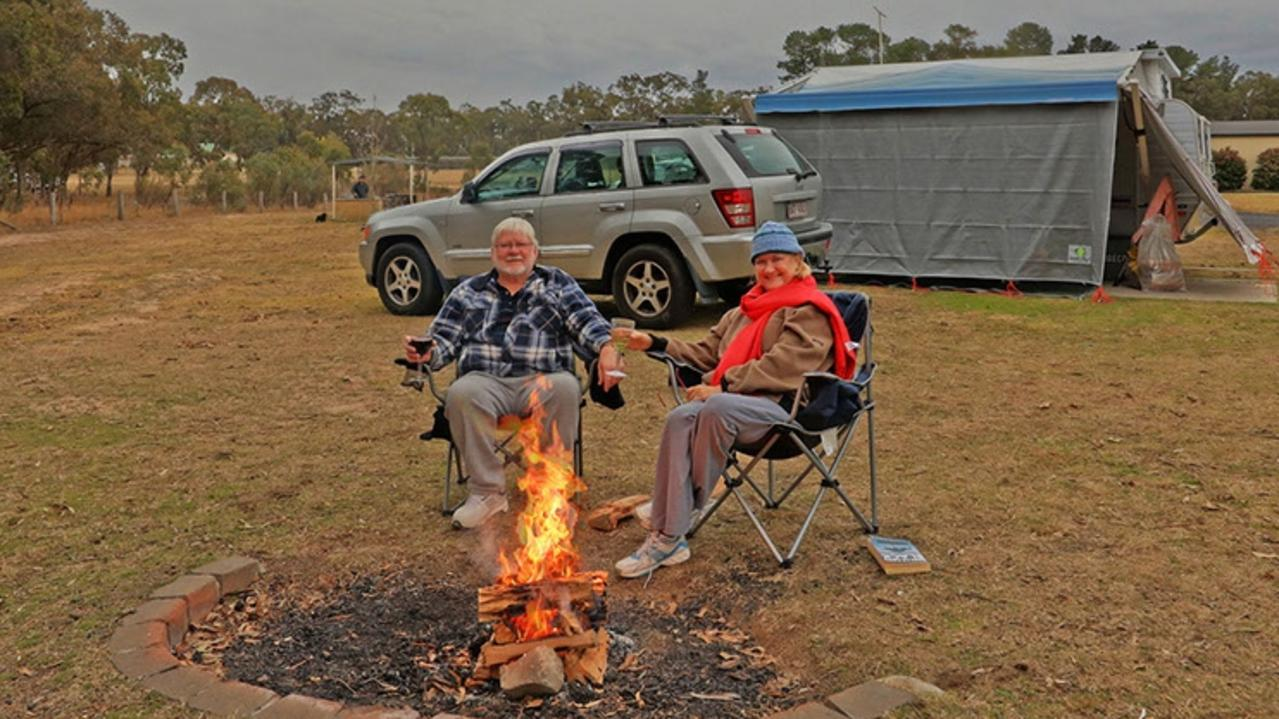 ALL WELCOME: Sommerville Valley Tourist Park operator Raymond Van Soest is looking forward to visitors returning. Picture: Contributed