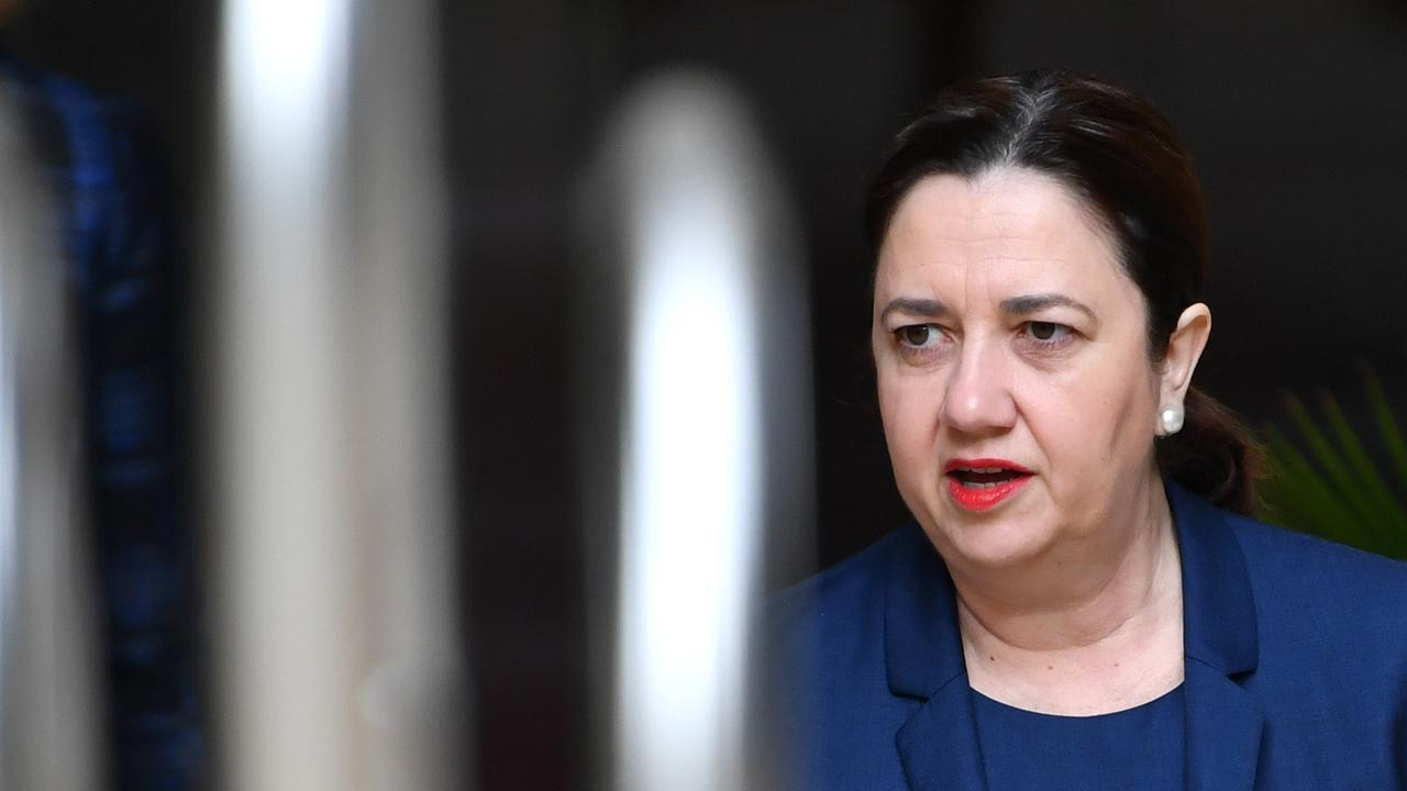 Premier Annastacia Palaszczuk has frustrated tourism operators with her hard line stance on the border. Picture: AAP